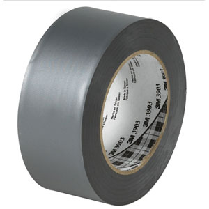 "2"" x 50 yds. Silver 3M - 3903 Duct Tape (24 Rolls)"