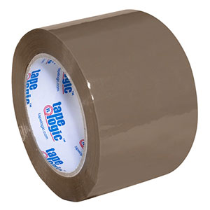 "3"" x 110 yds. Tan 1.8 Mil Acrylic Tape 24 Rolls/Carton"