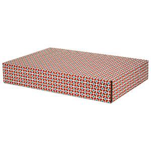 Tile Pattern Decorative Self Seal Shipping Boxes 17 5 8 X 12 1 4 X 3 24 Carton
