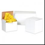 3 x 3 x 2 White Gift Boxes 100/Case