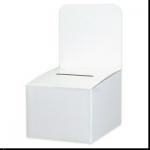 10 x 12 Ballot Box Header Card 10/Bundle