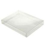 A7/Lee Clear Stationery Boxes (7 3/8 x 5 3/8 x 1
