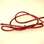 10 inch Metallic Red stretch loop (50 pack)