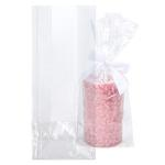 5 x 3 x 12 Premium Eco Clear Flat Bottom Gusset Bags (100 Pieces)