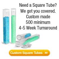 Square Plastic Tubes