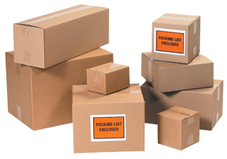 "Corrugated Cartons 12"" - 13"""