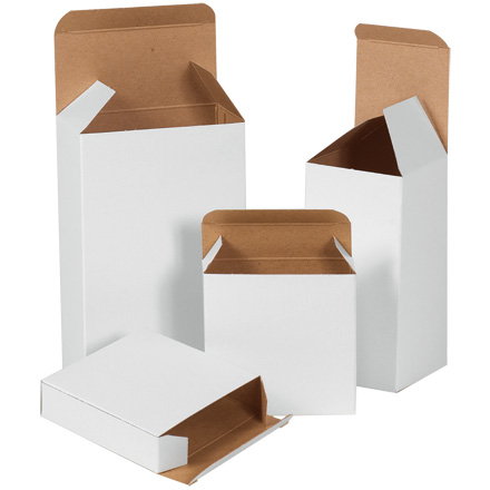 White Folding Cartons