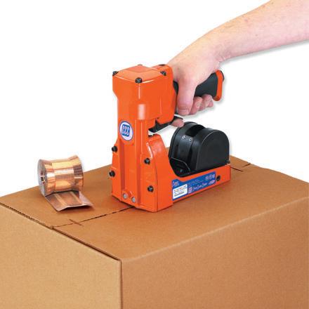 Pneumatic Roll Feed Carton Staplers