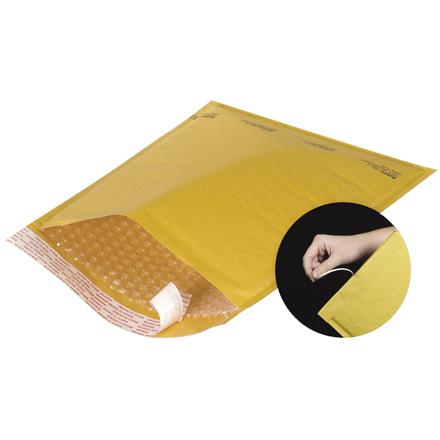 Kraft Bubble Mailers - Self Seal - Tear Strip