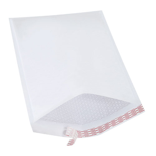 White Bubble Mailers - Self Seal