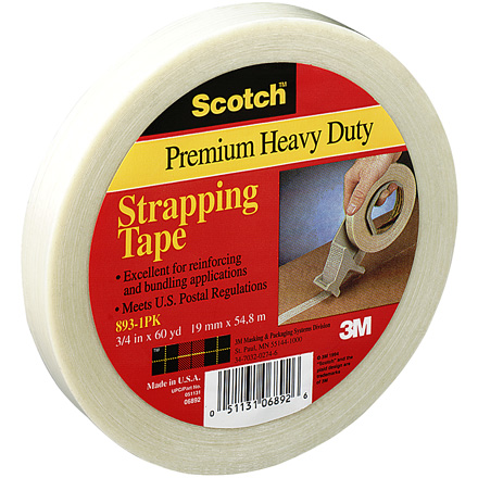 3M - 893 Industrial Filament Tape