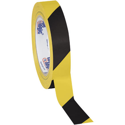 Striped Vinyl Safety Tape
