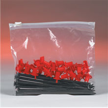 3 Mil. Slide Seal Reclosable Bags