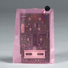4 Mil. AEGIS Amine-Free Pink Anti-Static Poly Bags