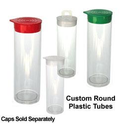 Custom Round Plastic Tubes