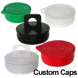 Round Plastic Tube Caps/Plugs