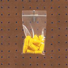 4 Mil. Reclosable Bags w/ Hanger Holes