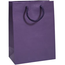 Eggplant Tint Tote Bags