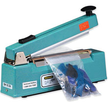 Impulse Heat Sealers with Cutter