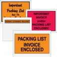 "Mil-Spec ""Packing List Enclosed"" Envelopes"