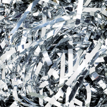 10 lb. Silver Metallic PureMetallic Shred Veryfine Cut