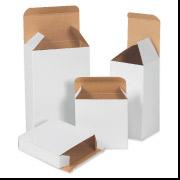 1 7/16 x 13/16 x 1 7/16 White Folding Carton 2000/Case