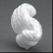 7 Cubic Feet White-Virgin Industrial Loose Fill