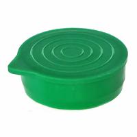 "1 1/4"" Green Packaging Tube Caps"