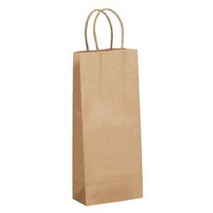 5 x 3 x 13 Kraft Shopping Bag 250/Case