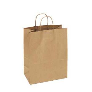 13 x 7 x 17 Kraft Shopping Bag 250/Case