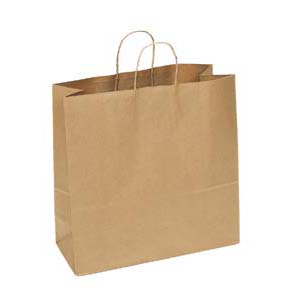 18 x 7 x 19 Kraft Shopping Bag 200/Case