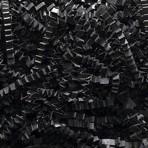Black Crinkle Cut Paper Shred 10 lbs/Case