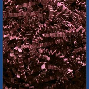 Burgundy Crinkle Cut Paper Shred 10 lbs/Case