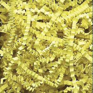 Lemon Crinkle Cut Paper Shred 10 lbs/Case