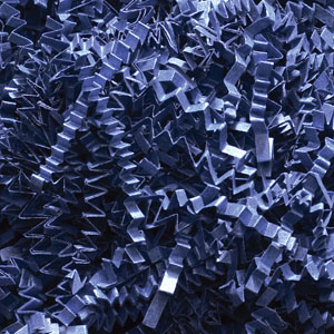 Navy Blue Crinkle Cut Paper Shred 10 lbs/Case