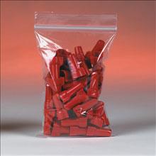 """7"""" x 8"""" 2 Mil. Zip Top Bags 1000/Case"""