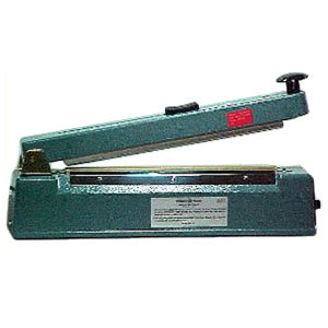 "12"" Hand Operated Impulse Heat Sealer with Cutter"
