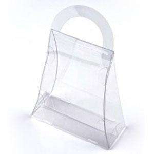 "3 1/2"" x 1 1/2"" x 4"" Purse Food Safe Box (25 Pack)"