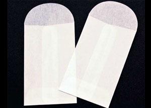 2 1/4 x 3 1/2 Glassine Open End Center Seam Envelope (50 pack)