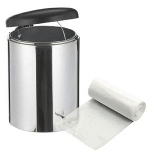 "13"" x 4"" x 17"" 4 Gallon 0.48 Mil. Trash Bags 1000 Bags/Case"