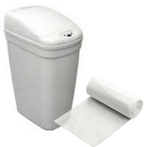 "12"" x 8"" x 21"" 7 Gallon 0.48 Mil. Trash Bags 1000 Bags/Case"