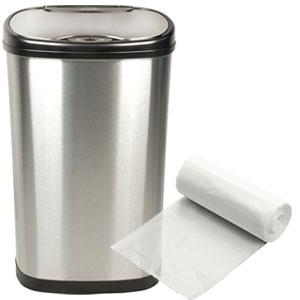 "15"" x 9"" x 31"" 12-16 Gallon 0.58 Mil. Trash Bags 500 Bags/Case"