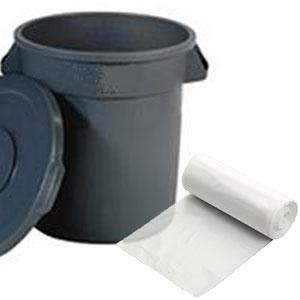 "20"" x 13"" x 39"" 31-33 Gallon 0.58 Mil. Trash Bags 250 Bags/Case"