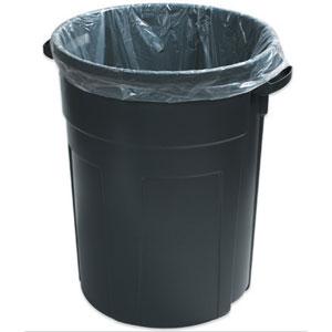 "25"" x 17"" x 48"" 56 Gallon 4 Mil. Trash Bags 50 Bags/Case"