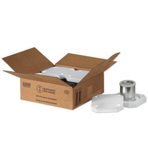 """10 1/4 x 10 1/4 x 6 3/16"""" 4 - 1 Quart Foam Haz Mat Shipper Kit"""