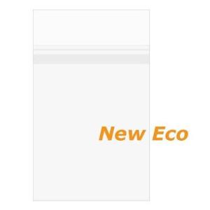 "5 7/16"" x 7 1/4"" + Flap, Premium Eco Clear Protective Closure Bags (100"
