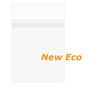 "8 7/16"" x 10 1/4""  + Flap, Premium Eco Clear Protective Closure Bags (1"