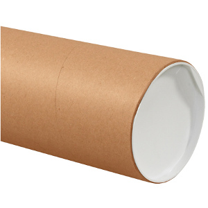 "6"" x 36"" Jumbo Kraft Tubes 10/Carton"