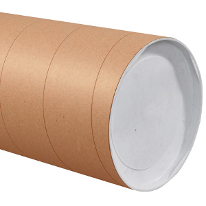 "8"" x 36"" Jumbo Kraft Tubes 10/Carton"