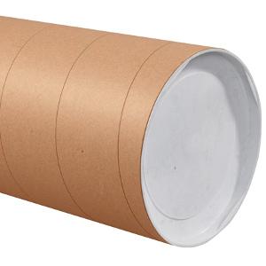 "8"" x 72"" Jumbo Kraft Tubes 10/Carton"